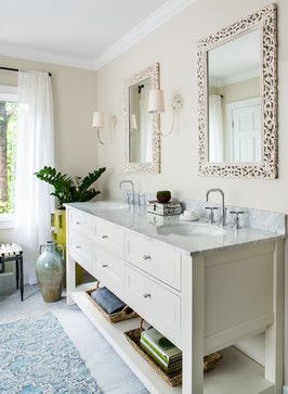 Benjamin Moore - Winds Breath and Simply White (trim)