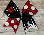 Disney cheer bow, YOU PICK COLORS, Summit cheer bow, big cheer bow, worlds cheer bow, mickey cheer bow, Disney hairbow