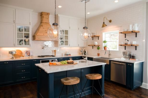 Newly Renovated Kitchen Features FunCcolors, Textures and Metal Finishes