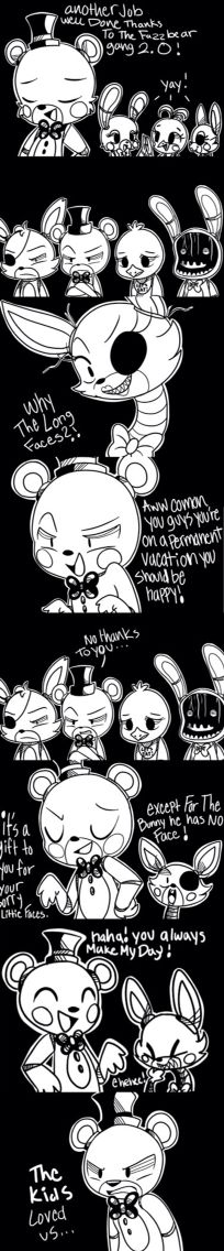 Five Nights at Freddy's 2 comic like or comment go freddy fazbear team for the first game I HATE the 2nd game