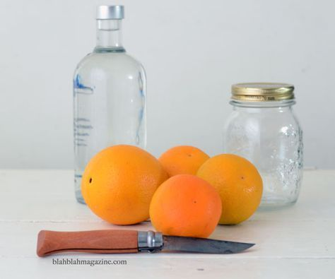 How to make orange essential oil to use in gifts, or home cleaning products.