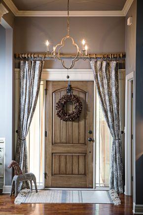 17 best ideas about Front Door Curtains on Pinterest | Door window ...