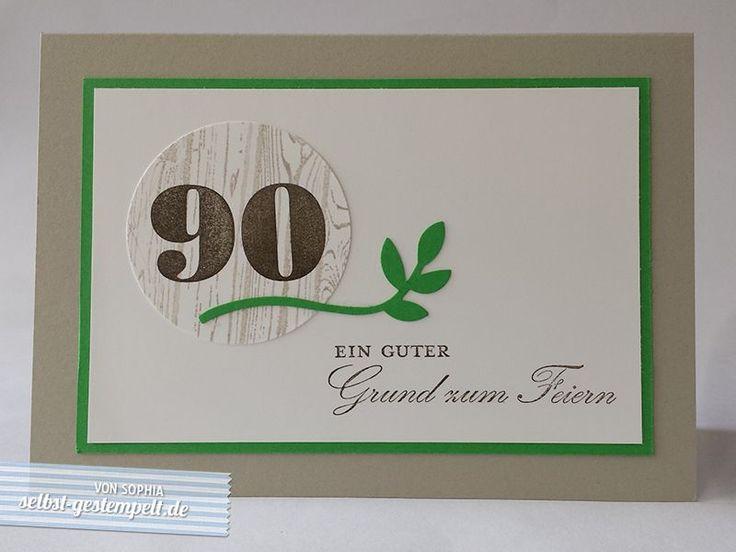 Die besten 25 zum 90 geburtstag ideen auf pinterest 90 geburtstag karten 90 geburtstag und - Ideen zum 90 geburtstag ...