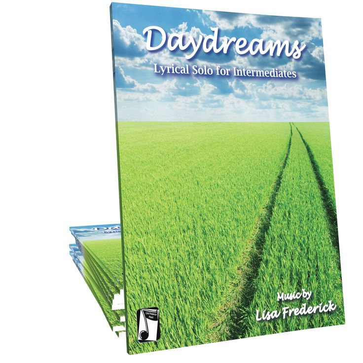 Daydreams is a showcase style lyrical piano solo composed by Lisa Frederick ideal for late intermediates of all ages.