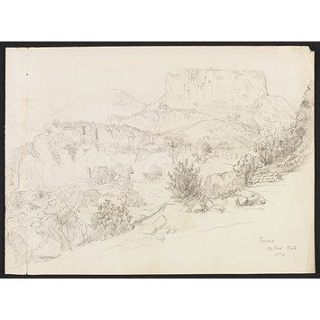 Pinara (Drawing) Sir George Scharf  1843