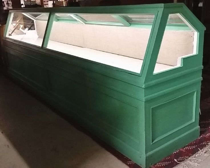 Large Antique Showcase and Store Display 2
