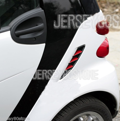 Port Hole Side Vent Reflective Decal Sticker Red Fits for Benz Smart Fortwo   eBay