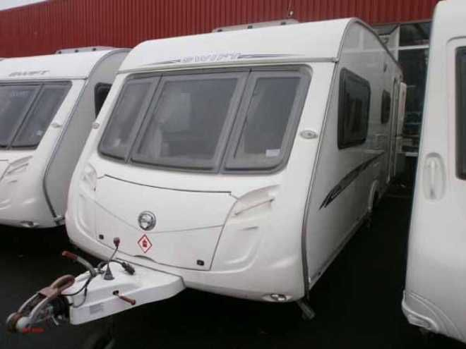 Swift Mere GT Oakmere 2008, 4 berth, (2008) Used  Touring caravan for sale in Tyne