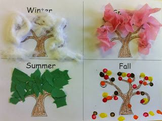 Kindergarten Korner: Seasons and a Freebie