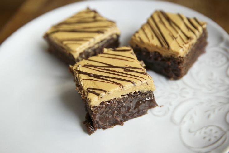 Brownie recept med dulce de leche frosting | Bambi