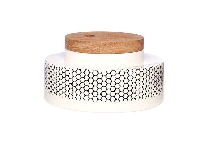 alveare + legno vaso in ceramica