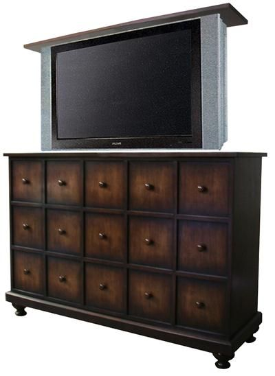 Hidden TV for Master Apothecary - TV Lift Cabinet from The ...