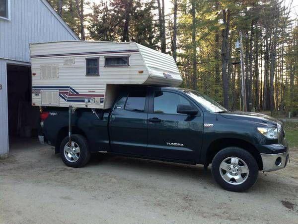 slide in camper   Slide in camper, Recreational vehicles ...
