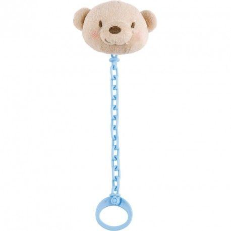 La cadena de chupete de Tuc Tuc es práctica con aplicación de peluche para evitar que tu bebé pueda perder su chupete.