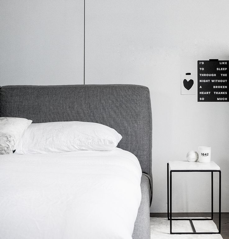 The Minimalist Home x Bedroom look with