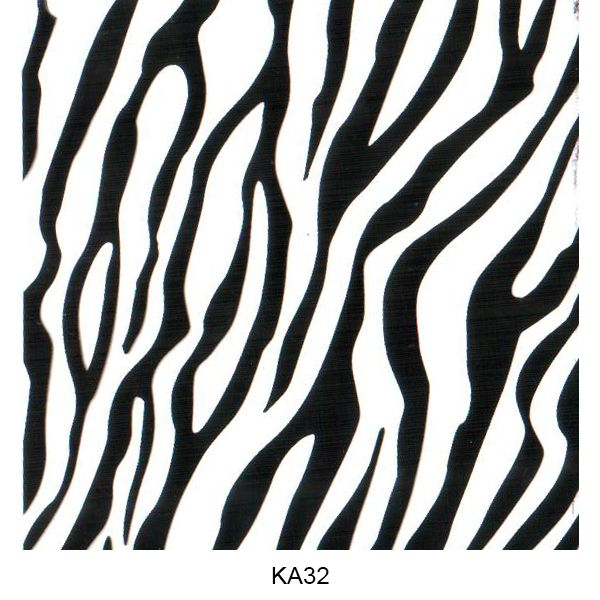 Water transfer film animal skin pattern KA32
