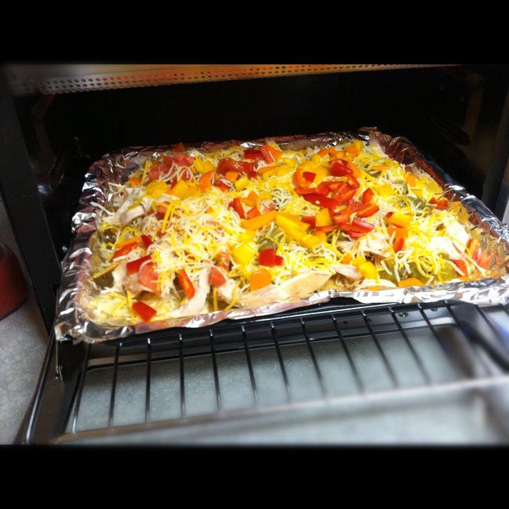 Toaster Oven Nachos