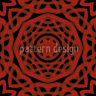 Orient Express Red by Matthias Hennig available for download on patterndesigns.com