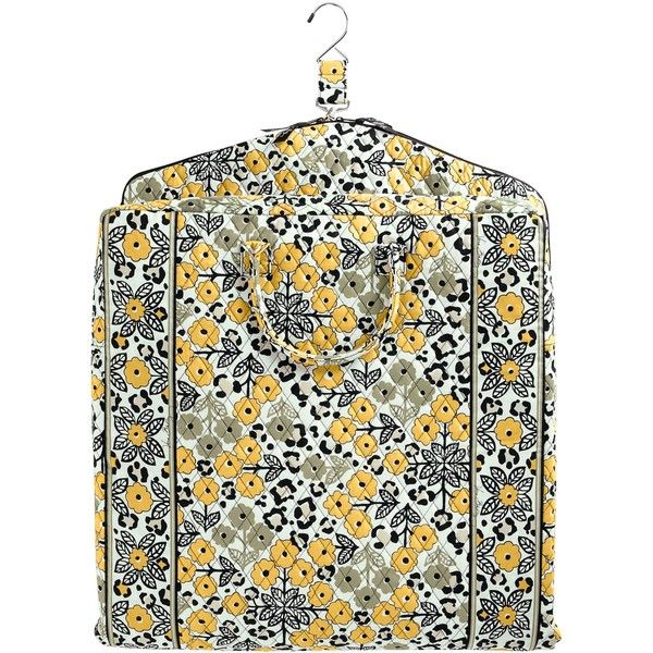 Vera Bradley Garment Bag ($135) ❤ liked on Polyvore featuring bags, luggage and travel