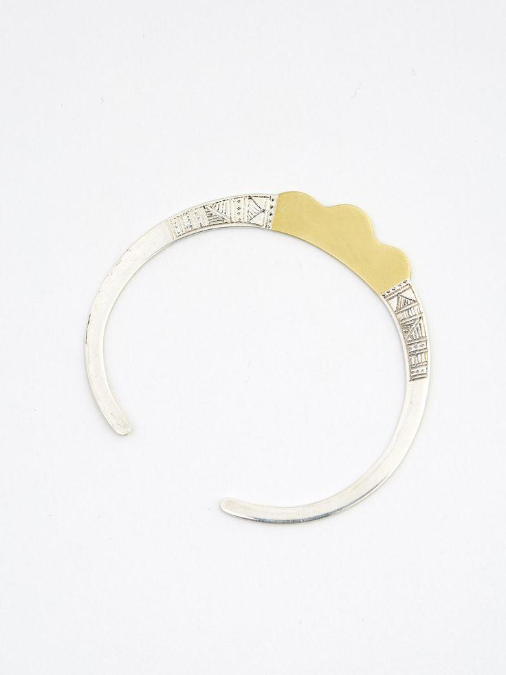 bracelet le mimosa de matisse argent et bronze