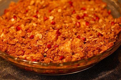Pomegranate Apple Crisp | Recipes That Look Delicious | Pinterest