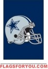"Cowboys Mini Flag 15"" x 10 1/2"""