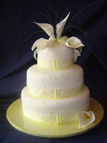 Lily Pink Bakery Wedding Cake