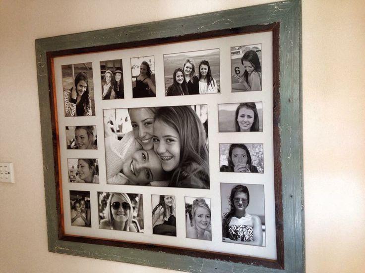 Annie Sloan chalk paint and clear wax frame