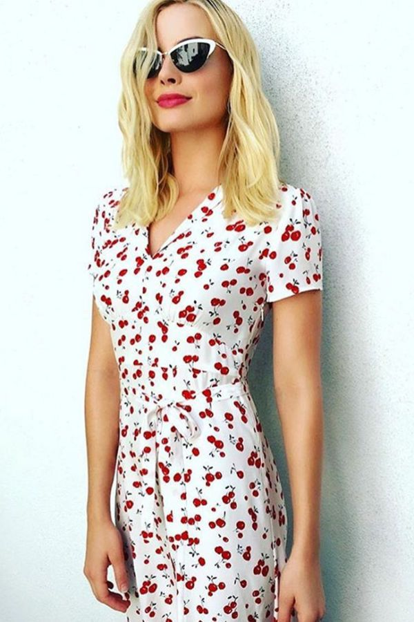 How To Score Margot Robbie's Perfect Summer Dress                                                                                                                                                      More