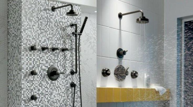 Küchenarmaturen und Badzubehör in Schwarz – 50 Ideen