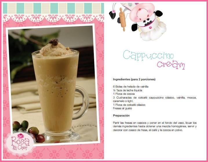 Capuccino cream