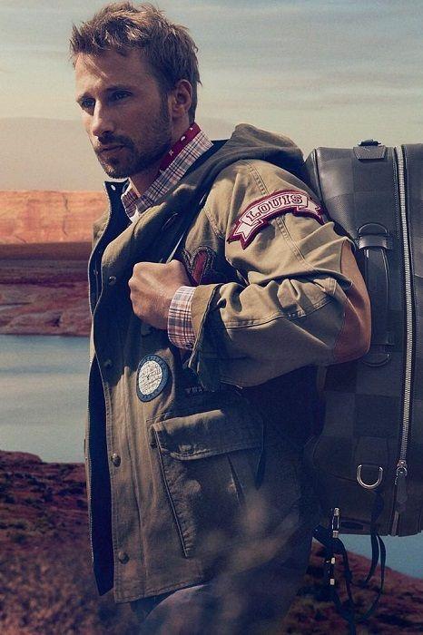 Matthias Schoenaerts Louis Vuitton Campaign