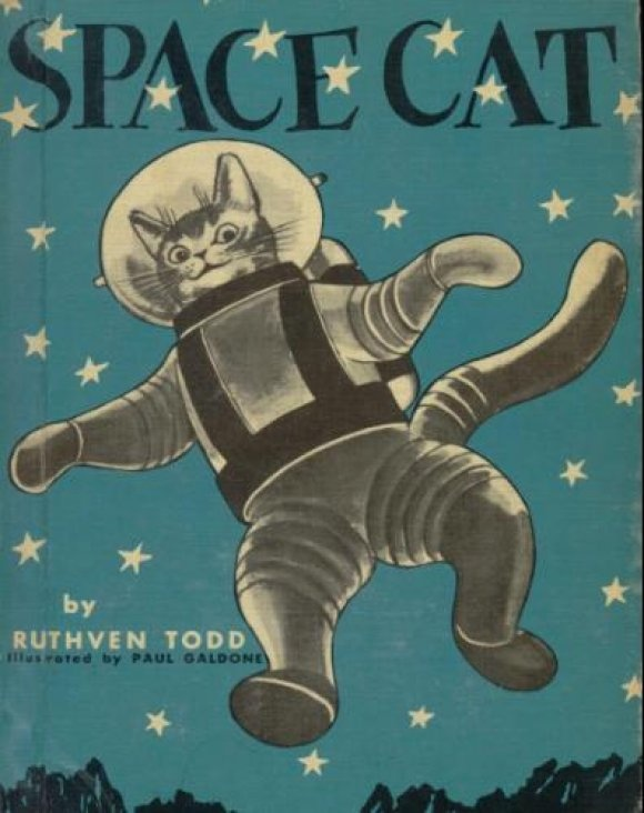 there are at a total of four Space Cat books that were originally published between 1952 and 1958,