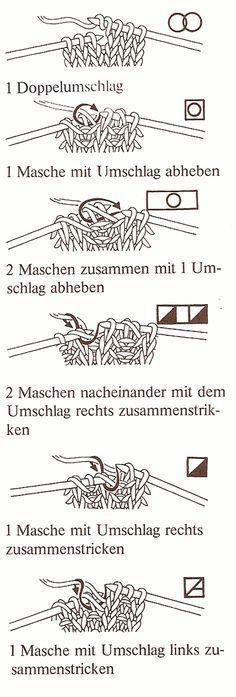 Stricken allgemein » Zeichenerklärung fürs Stricken                                                                                                                                                      Mehr