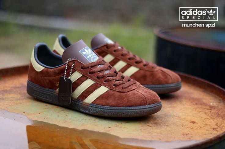new styles 91975 d7ce2 adidas munchen brown