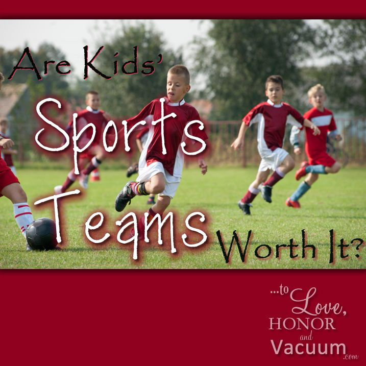 Perhaps we're taking this too seriously? Are Kids' Sports Teams WORTH it?