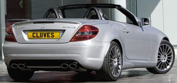 CL11 VES CLIVES  plate reduced to £15,105 all in - www.registrationmarks.co.uk NOW SOLD