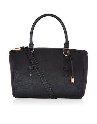 Rosie Handheld Bag | Black | Accessorize