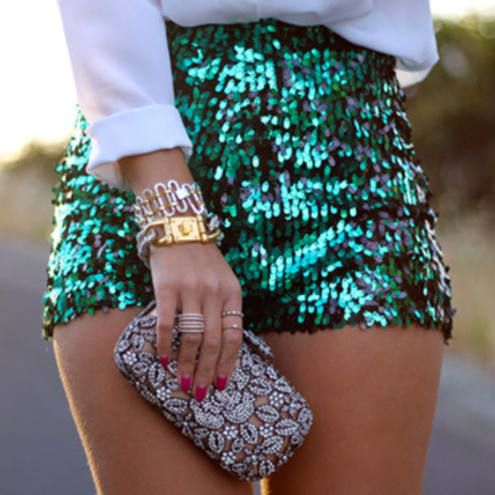 Green Sequin Short                                                                                                                                                                                 More