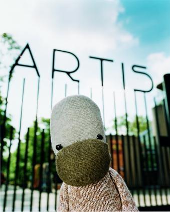 Artis de Partis, hugely popular brand character of Artis Amsterdam Zoo. www.artis.nl