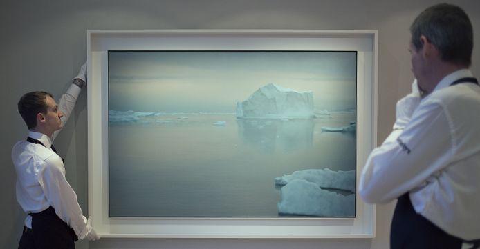 Gerhard Richter, Ice Mountain, Der Eisberg
