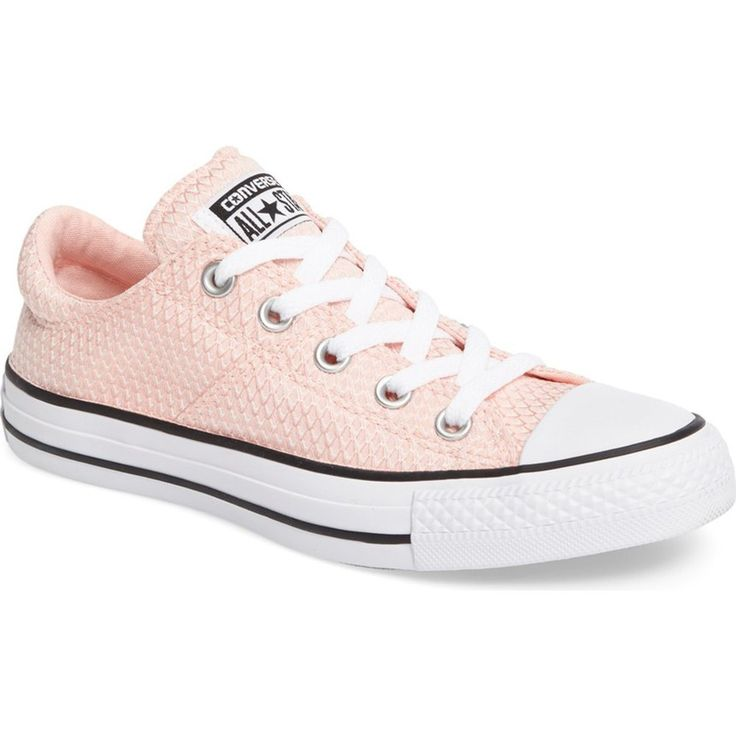 CONVERSE Chuck Taylor Madison Ox Women | Vapor Pink / Black / White (555860F)