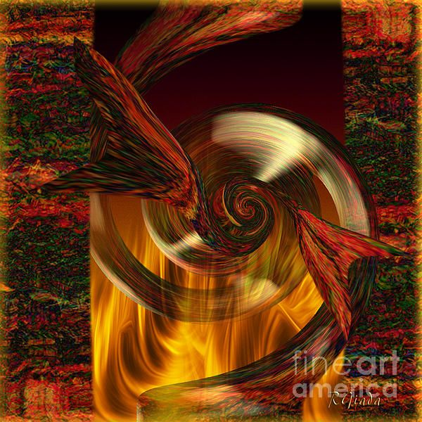 Sealed Passion Abstract Art by Giada Rossi Fine Art Prints and Posters for Sale #abstractart #digitalartist #giadarossi
