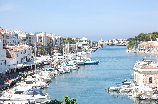 Minorca, Spain: Ciutadella Harbour Amazing memories of Harry eating a huge plate full of mussles :)