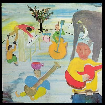 The Band-Music from the Big Pink Painting by Bob Dylan Album Cover Art Gallery
