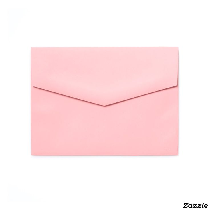 5x7 Colored Envelopes Soft Pink