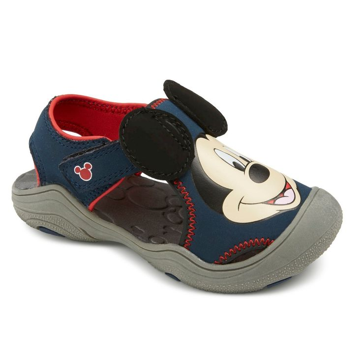 Toddler Boy's Mickey Mouse Hiking Sandals - Navy