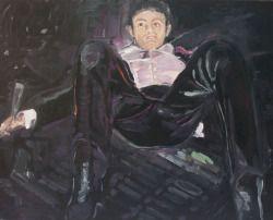 Adam Adach (Poilsh, b. 1962), Sex Addict (Julian), 2013. Oil on canvas, 80 x 100 cm.