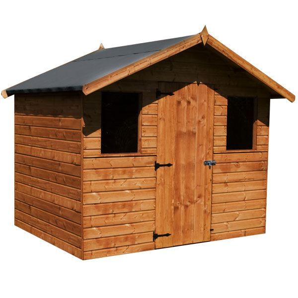 Brilliant Garden Sheds Jersey X Shire Apex Shed E And Ideas
