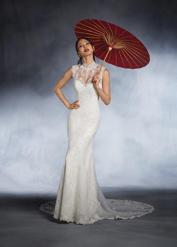Beautiful Disney inspired wedding dresses for Mulan inspired wedding dress